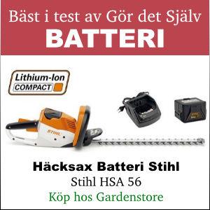 Bäst i test batteri häcksax